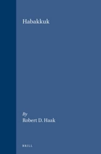 Habakkuk (Supplements to Vetus Testamentum. Volume XLIV) - Haak, Robert D.