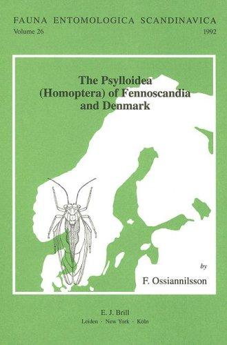 Psylloidea (Homoptera) of Fennoscandia and Denmark -: OSSIANNILSSON