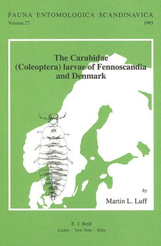 The Carabidae (Coleoptera) Larvae of Fennoscandia and Denmark: Based on a Manuscript by Sv.G. ...