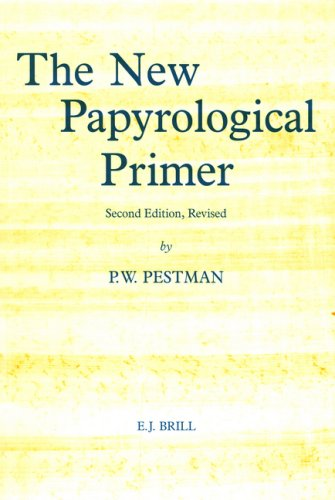 9789004100190: The New Papyrological Primer