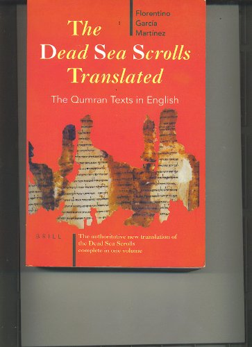 9789004100480: The Dead Sea Scrolls Translated: The Qumran Texts in English