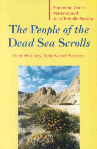 9789004100855: The People of the Dead Sea Scrolls: Their Writings, Beliefs and Practices