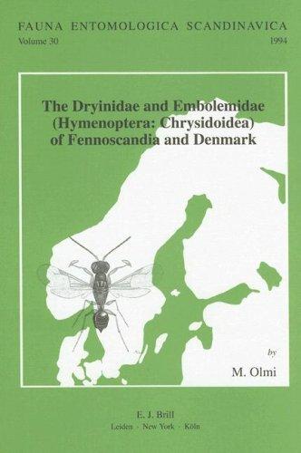 9789004102248: The Dryinidae and Embolemidae (Fauna Entomologica Scandinavica)