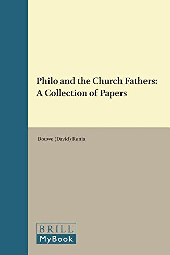 Philo and the Church Fathers. BRILL. 1995.: DAVID T. RUNIA.