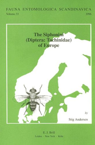 9789004107311: The Siphonini - Diptera-Tachinidae - Of Europe (Fauna Entomologica Scandinavica)