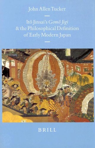 9789004109926: Itô Jinsai's Gomô Jigi and the Philosophical Definition of Early Modern Japan (Brill's Japanese Studies Library)
