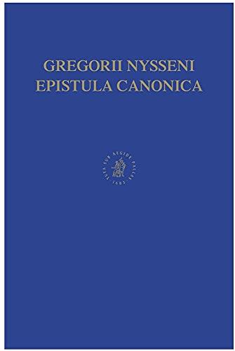 9789004111820: Gregorii Nysseni Epistulae (Gregorii Nysseni Opera) (Latin Edition)