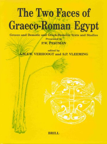 9789004112261: The Two Faces of Graeco-Roman Egypt (Papyrologica Lugduno-Batava) (P.L. Bat,)