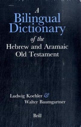 9789004112780: Bilingual Dictionary of the Hebrew and Aramaic Old Testament