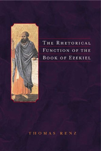 9789004113626: The Rhetorical Function of the Book of Ezekiel (Supplements to Vetus Testamentum)
