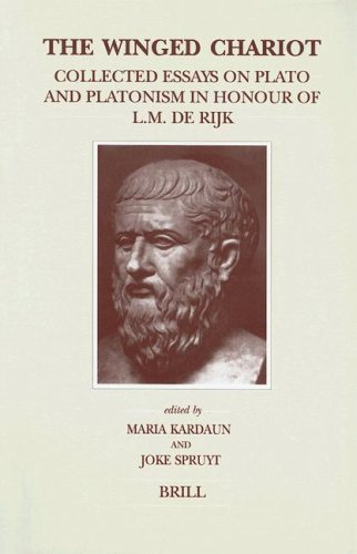 9789004114807: The Winged Chariot: Collected Essays on Plato and Platonism in Honour of L.M. De Rijk (Brill's Studies in Intellectual History)