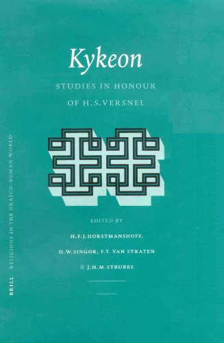 9789004119833: Kykeon: Studies in Honour of H.S. Versnel (Religions in the Graeco-Roman World)