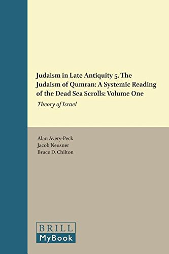 Judaism in Late Antiquity. Part Five: The Judaism of Qumran: A Systemic Reading of the Dead Sea ...