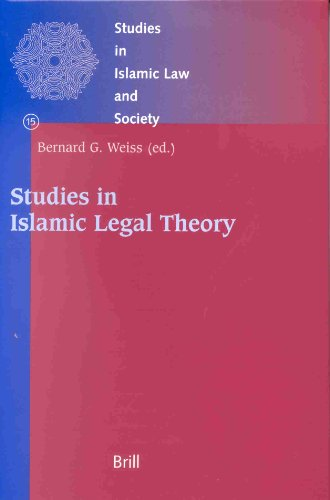 Studies in Islamic Legal Theory (Hardback)