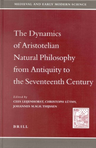 9789004122406: The Dynamics of Aristotelian Natural Philosophy from Antiquity to the Seventeenth Century (MEDIEVAL AND EARLY MODERN SCIENCE)