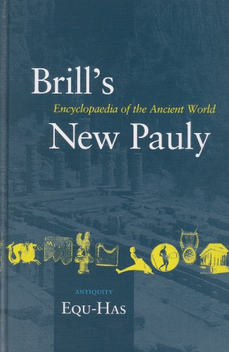 Brill s New Pauly, Antiquity: Equ - Has Volume 5: Encyclopaedia of the Ancient World (Hardback)