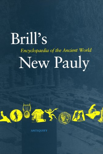 Brill's New Pauly, Antiquity. Encyclopaedia of the Ancient World. Volume 9 Mini-Obe - Cancik, HubertSchneider, Helmuth (ed.)