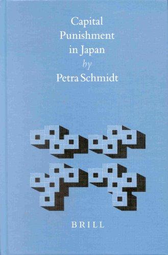 Capital Punishment in Japan: Petra Schmidt