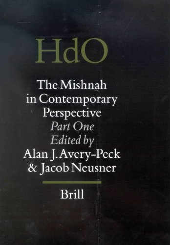The Mishnah in Contemporary Perspective: Avery-Peck and Neusner