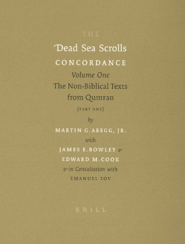 9789004125216: The Dead Sea Scrolls Concordance, Volume 1 (2 Vols): The Non-Biblical Texts from Qumran: Non-biblical Texts from Qumran v. 1