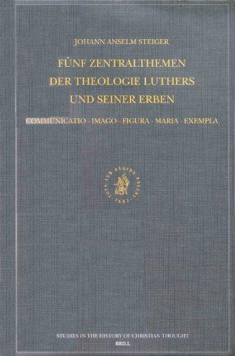 Funf Zentralthemen der Theologie Luthers und seiner Erben: Communicatio-Imago-Figura-Maria-Exempla:...