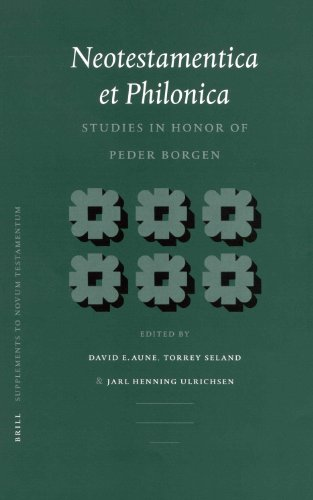 Neotestamentica Et Philonica: Studies in Honor of Peder Borgen (Supplements to Novum Testamentum)