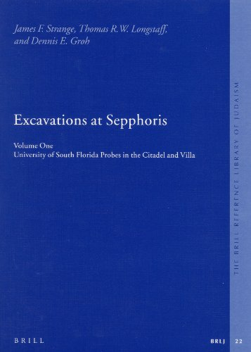 9789004126268: 1: Excavations at Sepphoris (The Brill Reference Library of Judaism)