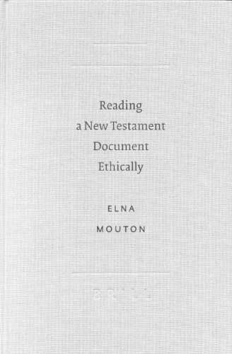 9789004126589: Reading a New Testament Document Ethically (Sbl - Academia Biblica Sbl - Academia Biblica)