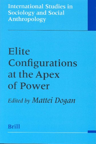 9789004128088: Elite Configurations at the Apex of Power (International Studies in Sociology and Social Anthropology)
