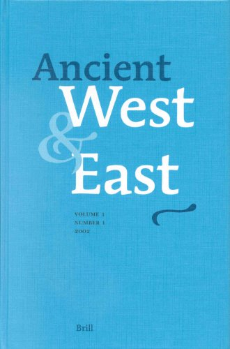 Ancient West and East, Vol. 1 (Ancient West & East): Tsetskhladze, G.R.
