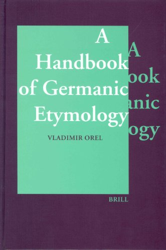 9789004128750: A Handbook of Germanic Etymology