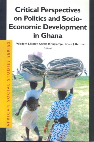 9789004130135: Critical Perspectives on Politics and Socio-Economic Development in Ghana (African Social Studies Series)