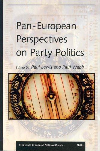 Pan-European Perspectives on Party Politics (Paperback): Paul G. Lewis, Paul D. Webb