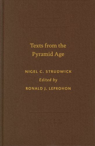 9789004130487: Texts from the Pyramid Age (Writings from the Ancient World) (Sbl - Writings from the Ancient World Sbl - Writings from th)