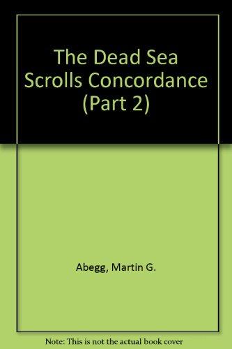 9789004132849: The Dead Sea Scrolls Concordance