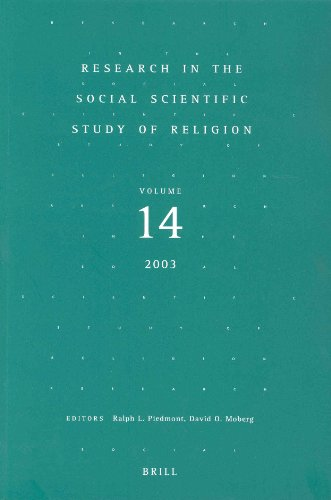 Research in the Social Scientific Study of Religion Volume 14 (Research in the Social Scientific ...
