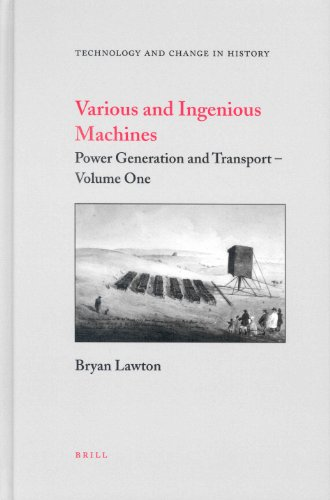 9789004136090: Various and Ingenious Machines (Technology and Change in History) (2 Volume Set)