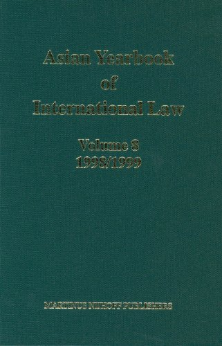 Asian Yearbook of International Law 1998-1999