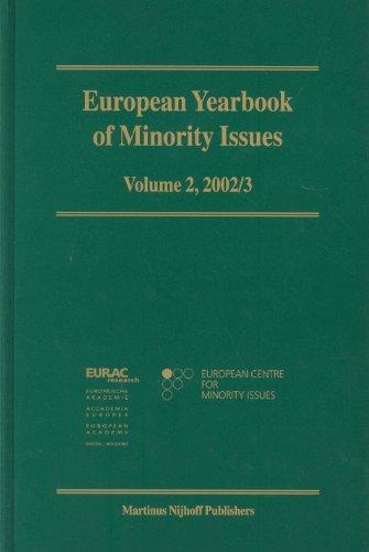 European Yearbook of Minority Issues: 2002-2003: Arie Bloed