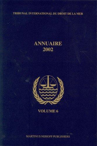 Annuaire Tribunal International du Droit de la mer 2002 (Paperback): International Tribunal for the...
