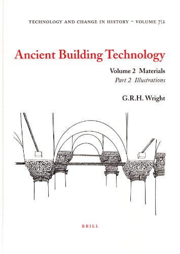 9789004140073: Ancient Building Technology: Volume 2: Materials (Technology and Change in History 7) (v. 2)