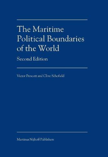 The Maritime Political Boundaries of the World: Victor Prescott, Professor Clive Schofield