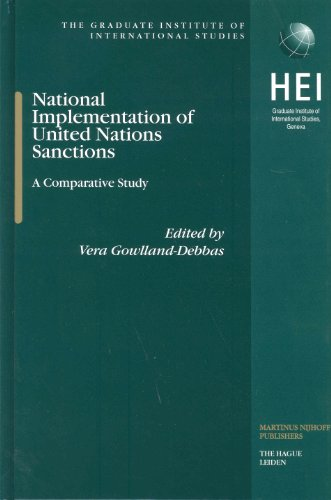 National Implementation of United Nations Sanctions: A Comparative Study (Hardback)