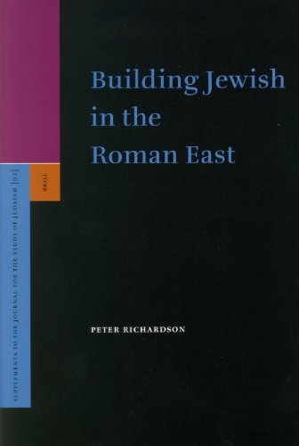 9789004141315: Building Jewish in the Roman East (Supplements to the Journal for the Study of Judaism)