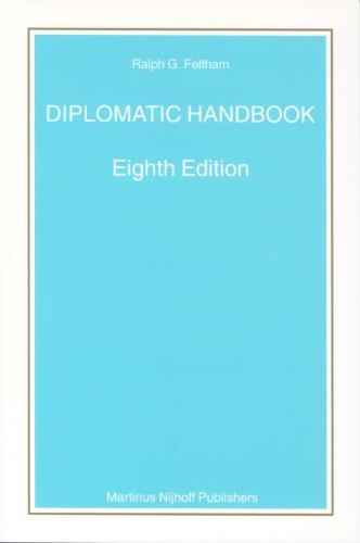 9789004141421: Diplomatic Handbook