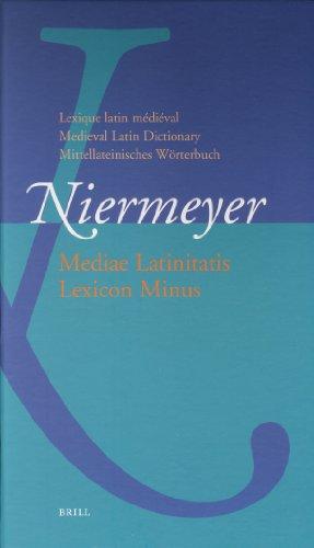 Mediae Latinitatis Lexicon Minus on Cd-rom: Institutional