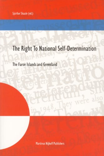 9789004142077: The Right to National Self-Determination: The Faroe Islands and Greenland (Nijhoff Law Specials) (v. 60)