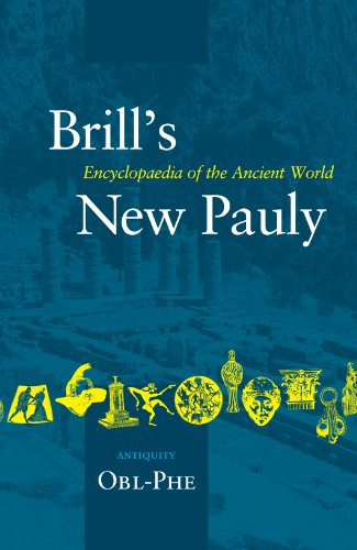 9789004142152: Brill's New Pauly: Antiquity: Obl-phe (Brill's New Pauly)
