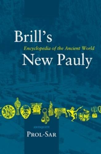 9789004142176: Antiquity, PROL-SAR (Brill's New Pauly)