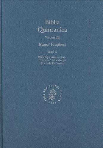 Biblia Qumranica: Minor Prophets Volume 3 B (Hardback)